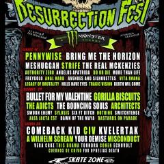 Terapia para el estrés: Escapada en Julio al 'Resurrection Fest de Viveiro 2011' | Meshuggah, Bring Me The Horizon, Strife y 40 grupos más