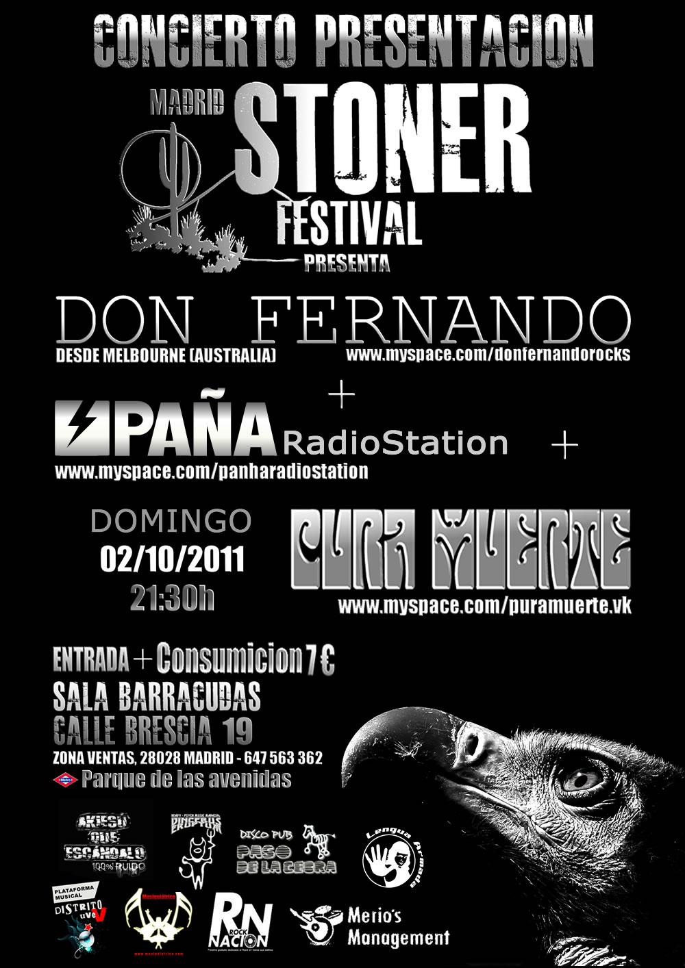 Ver Cartel a tamaño completo: Madrid Stoner Festival 2012