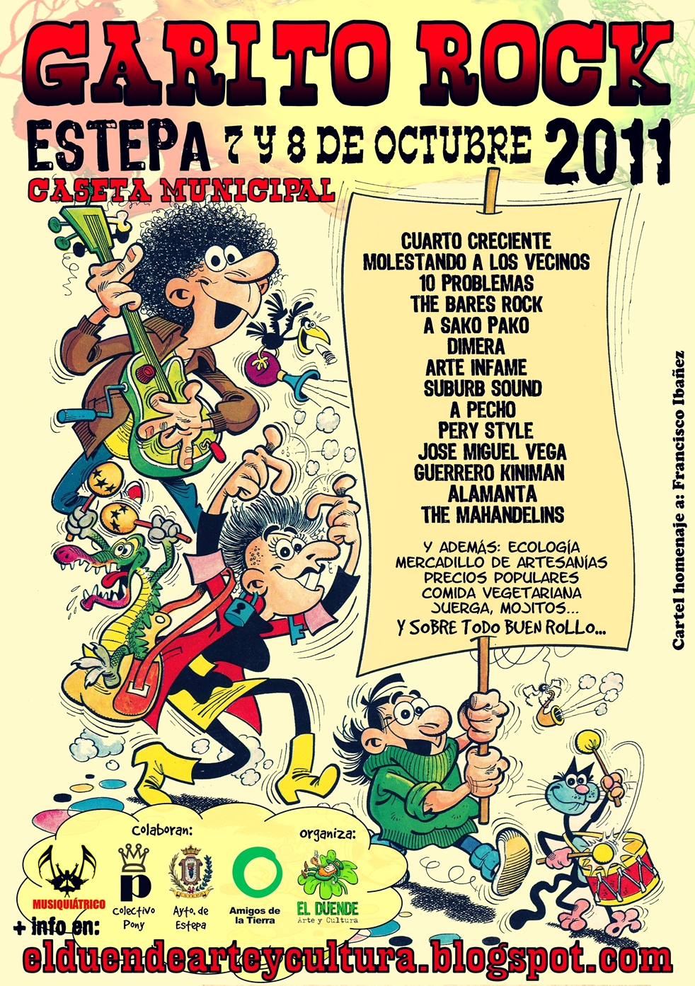 Cartel Garito Rock 2011