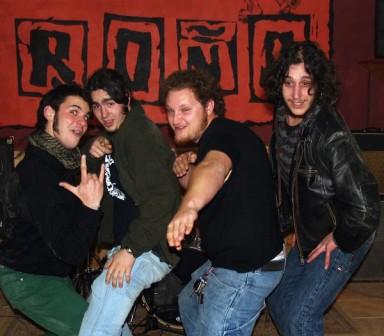Grupo de rock Roña - Mallorca