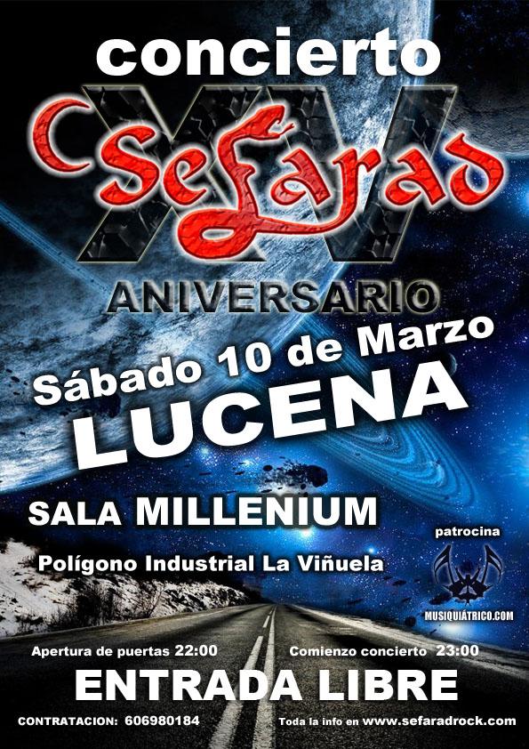 Concierto Sefarad en Lucena XV Aniversario