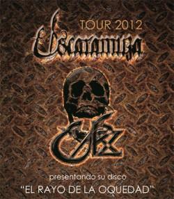 Nuevo Disco Escaramuza - Gira España 2012