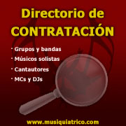 Directorio de Contratacin - Plataforma Digital El Musiquitrico