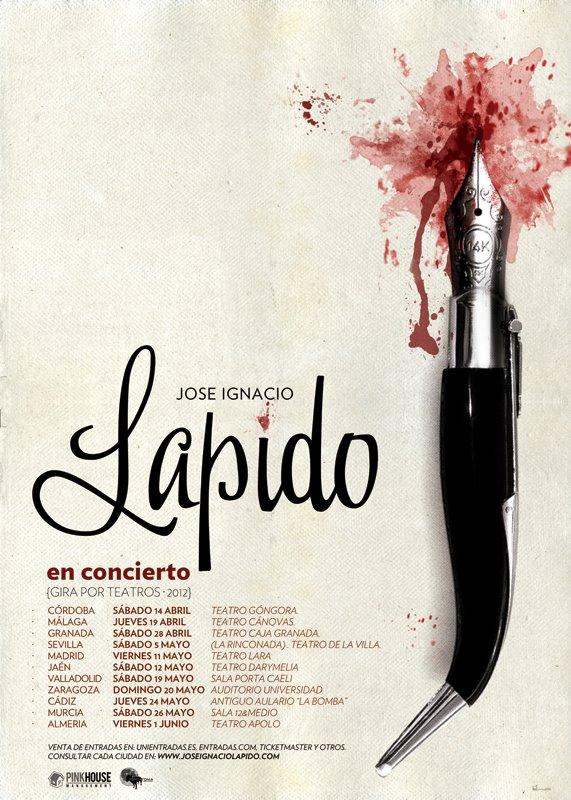 Gira Teatros 2012 - Lapido