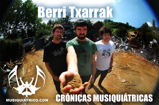 Crónica - Berri Txarrak en Sevilla 2012