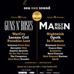 Festival Costa de Fuego: Grupos confirmados
