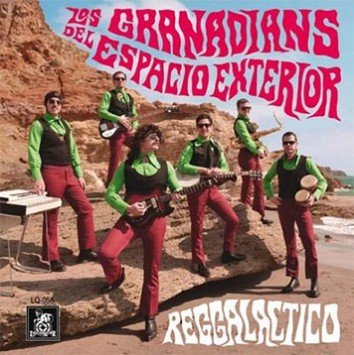 Los Granadians - Reggalactico - Nuevo disco