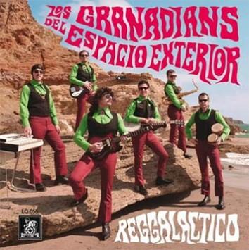 Los Granadians - Reggalactico - Nuevo disco