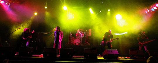 The Brutal en concierto