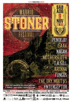 Cartel Madrid Stoner Festival 2013