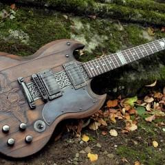 La guitarra como lienzo