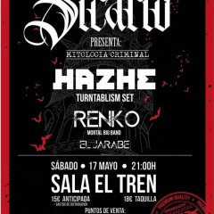Sicario + Hazhe + Renko + El Jarabe en la Sala el Tren de Granada