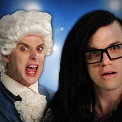 Skrillex Vs Mozart | Epic Rap Battles of History