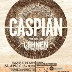 Caspian + Lehnen – Málaga