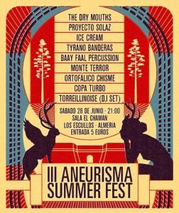 III Aneurisma Summer Festival