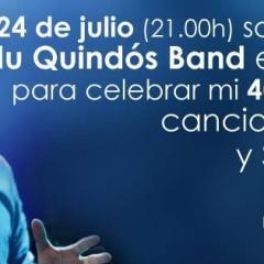 Concierto de Edu Quindós por su 40 cumpleaños en Luz de Gas