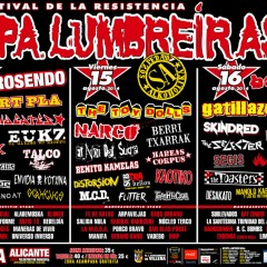 Aupa Lumbreiras: 14, 15 y 16 de Agosto en Villena (Alicante)