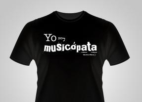 """Camisetas """"Yo soy Musicópata"""""""