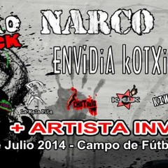 V Pajarrako Rock: Narco, Envidia Kotxina, Los Chikos del Maiz y muchos más