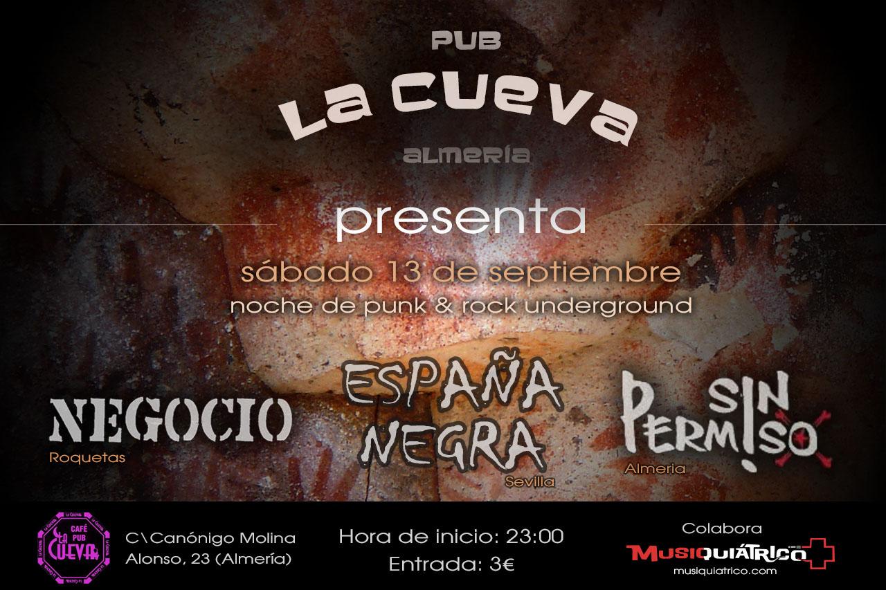 Concierto La Cueva - Almería