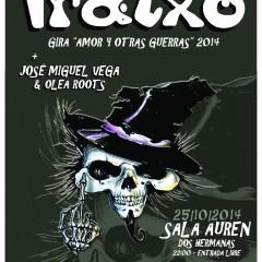 Iratxo (Gira «Amor y Otras Guerras») + Jose Miguel Vega & Olea Roots