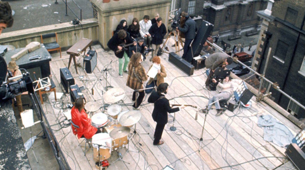 Beatles - Concierto en el tejado (Apple Corp - Londres)