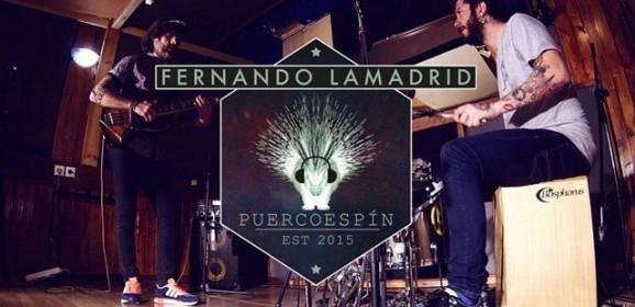 Puercoespín… Fernando Lamadrid y Juanito Makandé